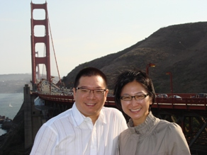 Dr. Lee and Dr. Wu away in San Francisco from their Modesto Plastic surgery practice